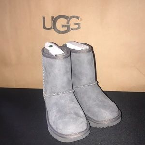 Toddler Classic II Grey Boots #12